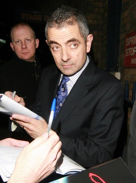 Celebs Attending The 'Oliver!' Opening Night After-Party - rowan-atkinson photo