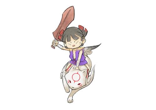 Chibiterasu amd Kuninushi