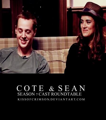 Cote & Sean S7 Cast Roundtable