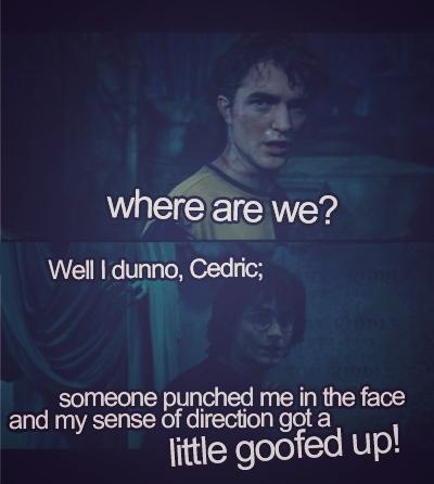 Damn it Cedric.