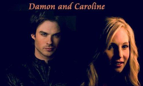 Damon&Caroline