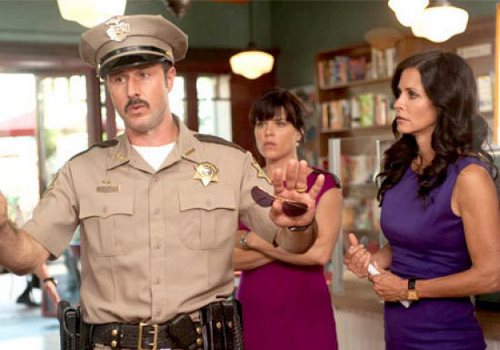 David, Neve, & Courteney in Scream 4 - horror-movies Photo
