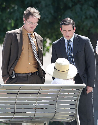 Dwight and Michael