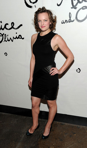 Elisabeth Moss - Alice + Olivia - Arrivals - Spring 2011 MBFW