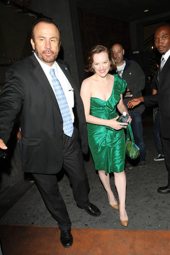 Elisabeth Moss - Leaving Mann's Chinese Theatre