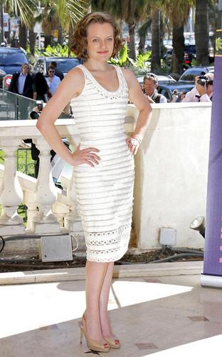 Elisabeth Moss - Mad Men Stars at MIPCOM
