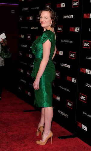 "Elisabeth Moss - Premiere Of AMC's ""Mad Men"" Season 4 - Arrivals"