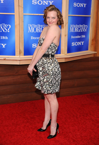 """Elisabeth Moss - Premiere Of """"Did You Hear About The Morgans?"""" - Arrivals"""