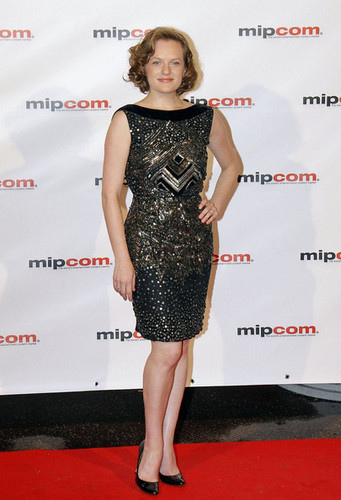 Elisabeth Moss at MIPCOM