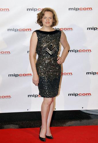 Elisabeth Moss at MIPCOM