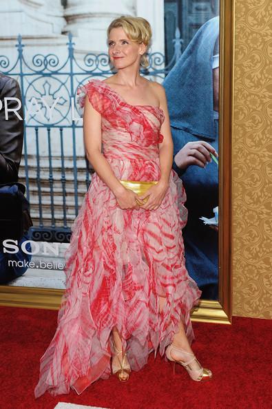 Elizabeth Gilbert at NYC premiere of EPL