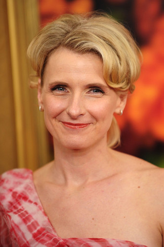 Elizabeth Gilbert at NYC premiere of EPL