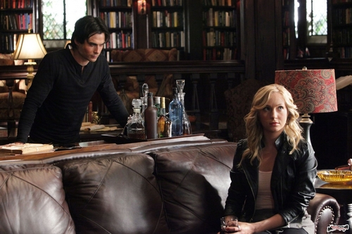 Damon & Caroline images Episode 2x07 - Masquerade still HD wallpaper and background photos