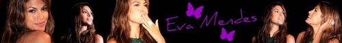 Eva Mendes - Banner
