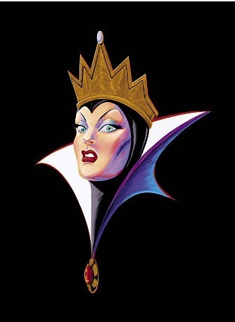 Penjahat Disney kertas dinding called Evil Queen
