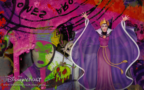 Disney Villains wallpaper with anime titled Evil Queen