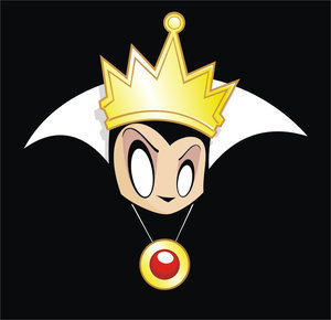 Disney Villains achtergrond titled Evil Queen