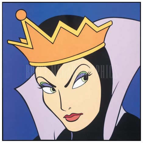 Disney Villains hình nền containing anime called Evil Queen