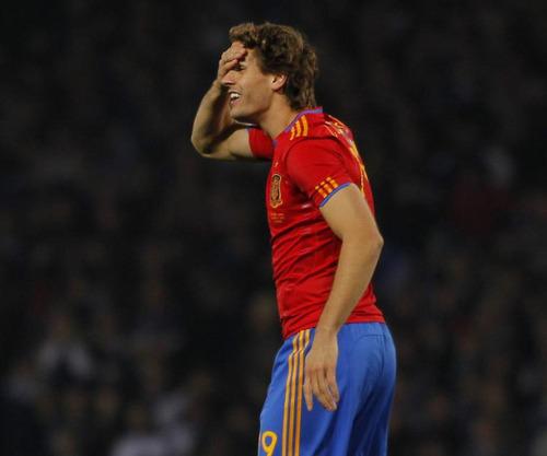 Fernando Llorente Shottland - Spain (2:3) 12.10.2010