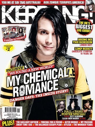 Frank on Kerrang! Magazine (October 2010)