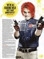 Gerard in Kerrang! Magazine (October 2010)