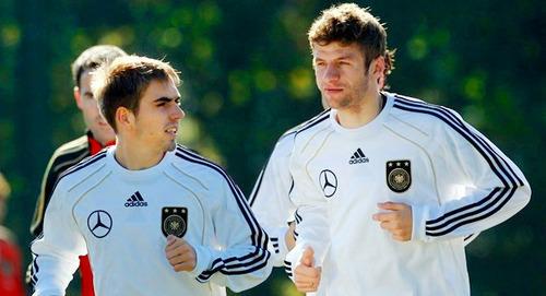 German NT training