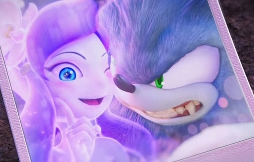 Ghost Girl and Werehog Picture