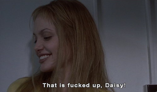 Girl, Interrupted wallpaper containing a portrait called Girl Interrupted- quotes