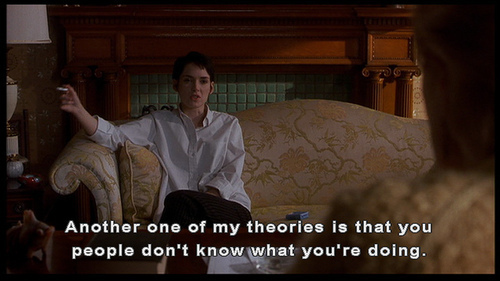 Girl, Interrupted wallpaper probably containing a drawing room, a living room, and a parlor entitled Girl Interrupted- quotes