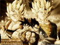 Gogeta and Super Vegito wallpaper 1 - dragonball-z-movie-characters wallpaper
