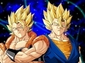 Gogeta and Super Vegito wallpaper 2 - dragonball-z-movie-characters wallpaper