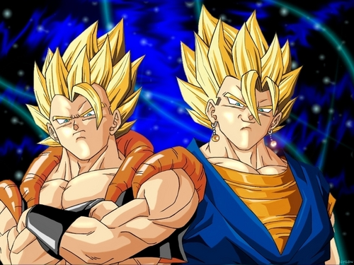 Gogeta and Super Vegito پیپر وال 2