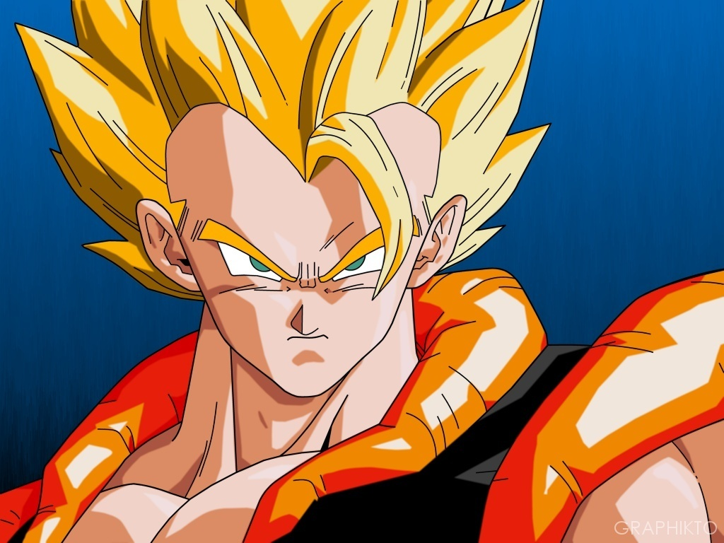 Dragonball z movie characters images gogeta wallpaper 1 hd for Portefeuille dragon ball z
