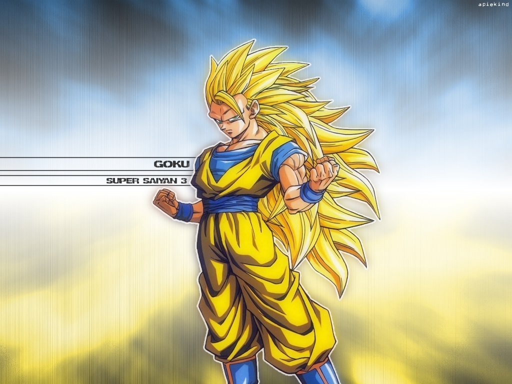 Dragonball Z Movie Characters Goku Super Saiyan 3 Wallpaper 3