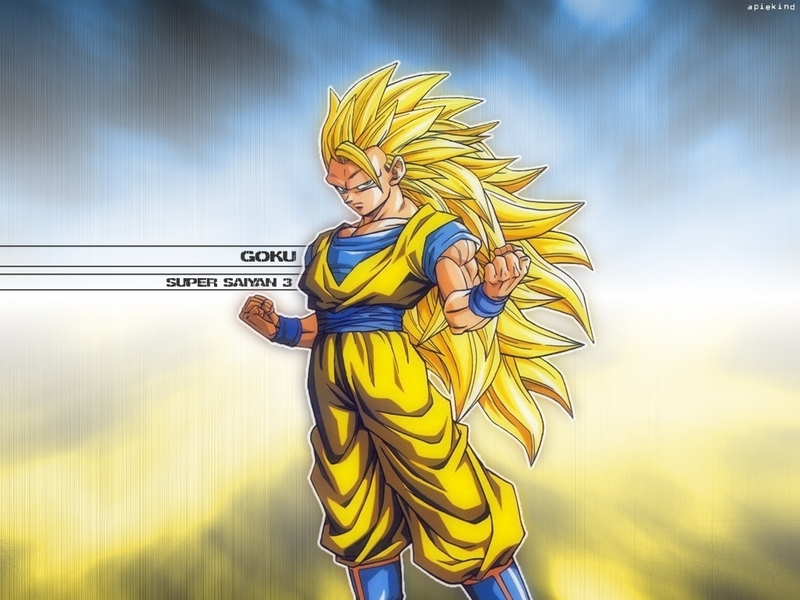 dragon ball z goku super saiyan. dragon ball z kai goku super