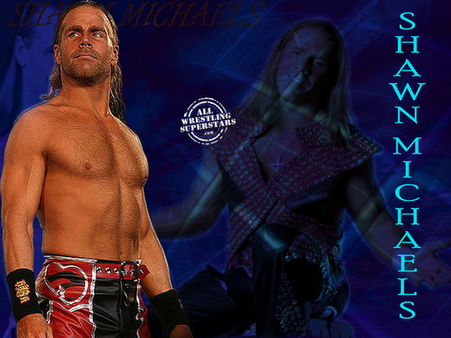 Shawn Michaels Обои probably with a ломоть and a six pack titled HBK <3