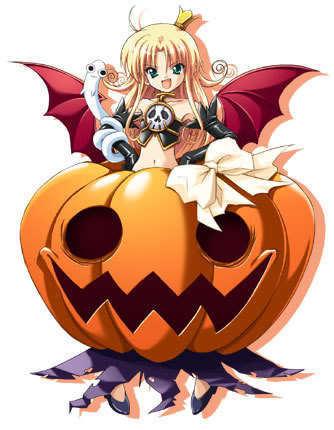 Happy *Anime* হ্যালোইন Rachel