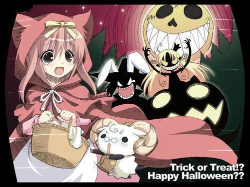Happy *Anime* Хэллоуин Rachel