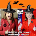 Happy Halloween from the wicked witches of East and West - us-democratic-party photo