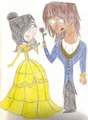 Heather And Alejandro In Beauty And The Beast. - total-drama-island fan art