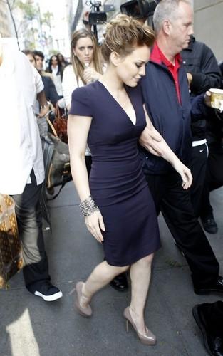 Hilary @ ABC Studios