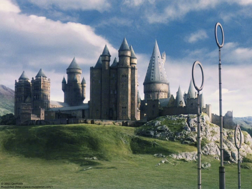 Hogwarts House Rivalry! দেওয়ালপত্র probably with a castle, a palace, and a অট্টালিকা entitled Hogwarts