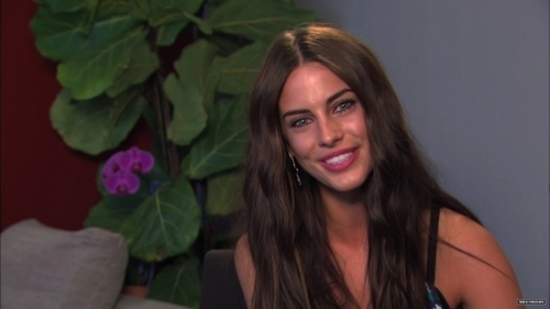 Jessica Lowndes Обои containing a portrait called IMDb 20th Anniversary Interview (HQ caps)