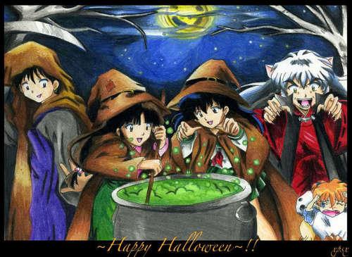 InuYasha- Halloween.