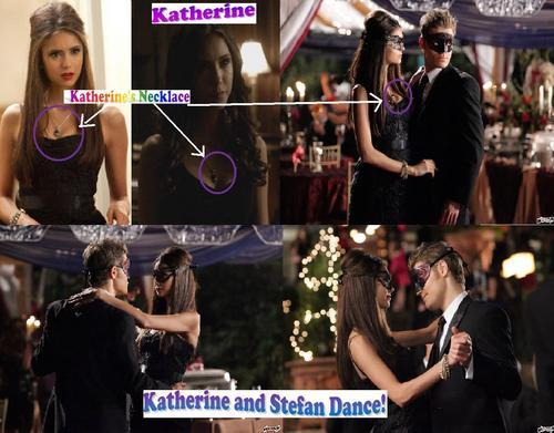 It's definitely Katherine and Stefan!
