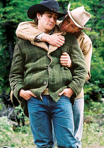 Romantic Movie Moments fond d'écran containing a boater, a snap brim hat, and a fedora entitled Jack and Ennis