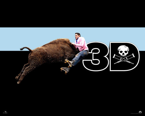 Jackass 3D Wallpaper:  Johnny Knoxville - jackass Wallpaper