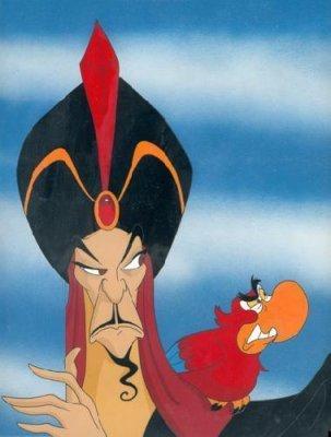 Disney Villains karatasi la kupamba ukuta entitled Jafar