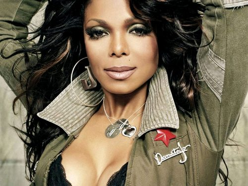 Janet Jackson wallpaper with a portrait titled Janet ♥  *wallpapers*