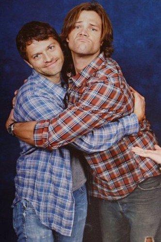 Jared and Misha